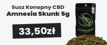 Susz CBD konopny 7% Amnesia Skunk 5g VONZZY