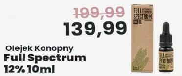 Olejek Konopny CBD Full Spectrum 12% 10ml Certyfikowany