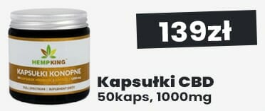 Kapsułki CBD Konopne 10% 50k 1000mg HempKing