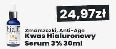 Kwas Hialuronowy serum 3% Natur Planet Hialu-Pure