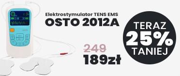 Elektrostymulator TENS EMS Masażer OSTO 2012A