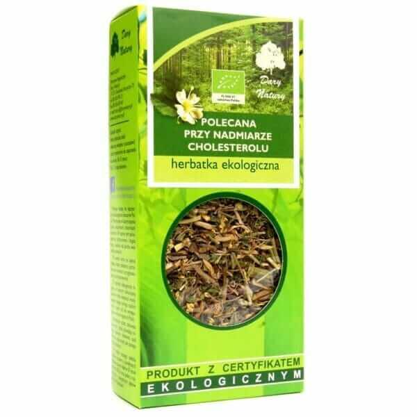 Herbatka Na Cholesterol BIO 50g Dary Natury