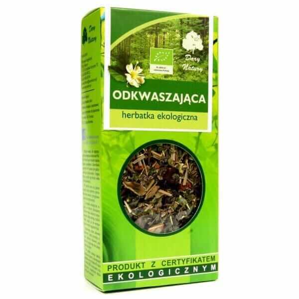 Herbatka Odkwaszająca BIO 50g Dary Natury