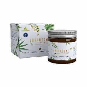 Jogurtowy Mus Konopny do Ciała 100 ml HempKing Naturalny Vege BIO Ekologiczny