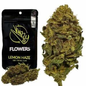 Susz CBD Konopny 7% Kwiaty Lemon Haze 5g VONZZY